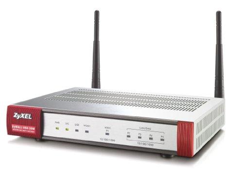 ZyXEL ZyWALL USG 20W USG Firewall, 802.11b/g/n WLAN, 5 IPsec, 1 SSL-VPN Tunnel, 100Mbit/s Firewall-Durchsatz (Zyxel Router Usg)