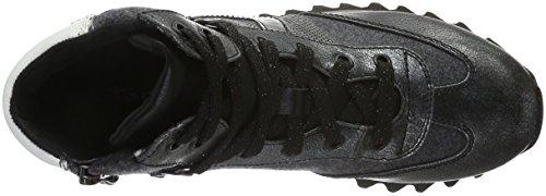 Tamaris 25216, Sneakers Hautes Femme Gris (Anthracite Com 234)