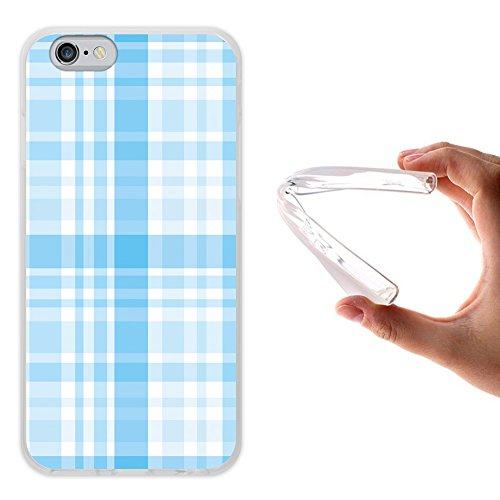iPhone 6 6S Hülle, WoowCase Handyhülle Silikon für [ iPhone 6 6S ] Tier Schwarze haut des krokodils Handytasche Handy Cover Case Schutzhülle Flexible TPU - Transparent Housse Gel iPhone 6 6S Transparent D0544