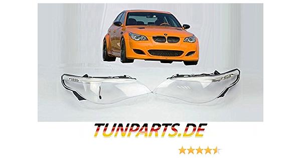 Scheinwerfer Glas E60 E61 Vor Facelift Streuscheiben Linsen Abdeckung Led Auto