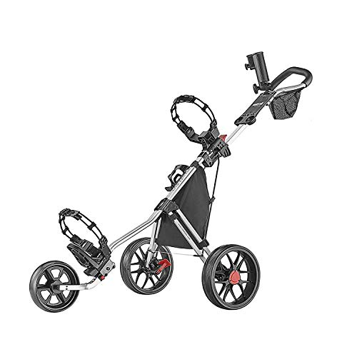 Caddytek CaddyLite 11.5 V3 Deluxe Golf Push Chariot (Silver)...
