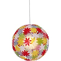 Naeve Leuchten Young Living 7024861 Pendant Light/Light Bulb Not Included/Diameter 70 cm/Cable Length 100 cm/Plastic / Metal/Multi-Coloured preiswert