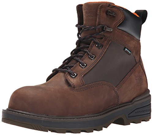 Timberland PRO Men's 6 Inch Resistor Comp Toe WP Work Boot, Brown, 10.5 M US Comp Toe Boot