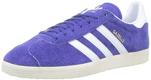 adidas Gazelle, Scarpe da Ginnastica Uomo, Blu (Active Blue/Ftwr White/Off White), 38 2/3 EU