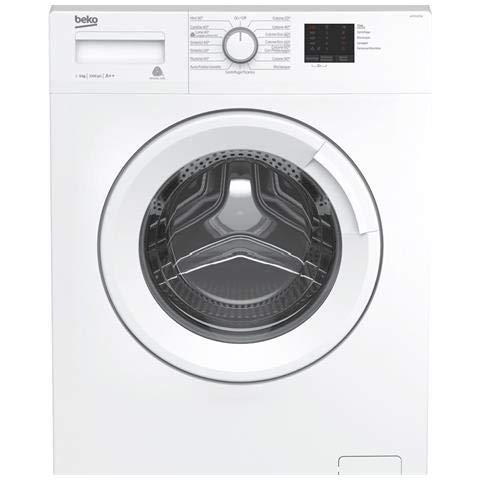 Beko WTX51021W Lavatrice, Carica frontale 5kg 1000Giri/min A++, Bianco