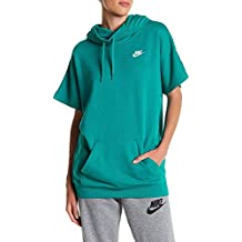 Nike W NSW Hoodie SS FLC – Sudadera para Mujer, tamaño, Mujer, Rio