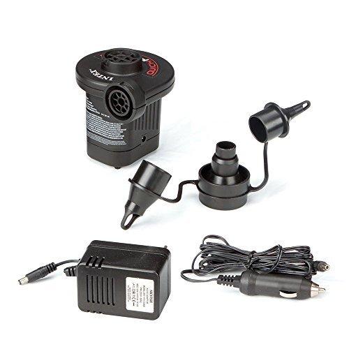 Intex Quick-Fill AC/DC Electric Air Pump, 110-120 Volt, Max. Air Flow 15.9CFM by Intex Recreation C