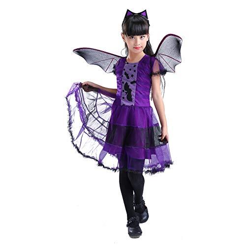 Qlan Halloween Kostüm Kostüm Fledermaus Flügel Kleinkind Outfit ()