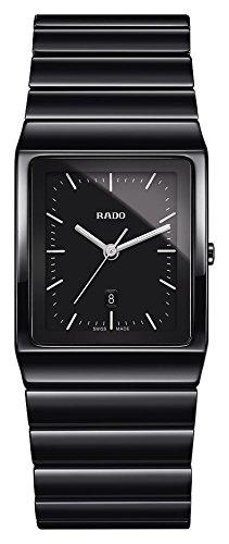 Rado Ceramica Herren-Armbanduhr Armband Keramik + Gehäuse Quarz R21700172