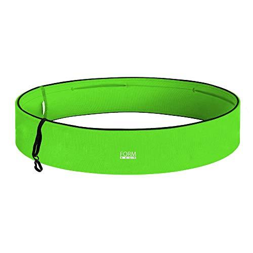 FORMBELT Laufgürtel für Handy Smartphone Schlüssel Hüfttasche, Running Belt, Sport-Bauchtasche, Jogging Fitness Gürtel Iphone 5 6 6s 7 + plus Samsung Galaxy, Gel