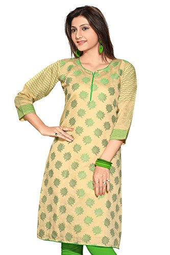 ALC-Creations-Womens-Chanderi-Silk-A-Line-Kurti