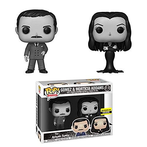 mily: Morticia and Gomez Black and White Standard ()