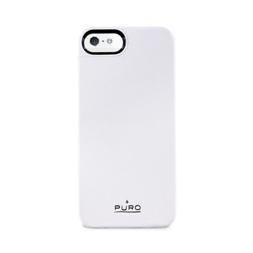 PURO ECOLEATHER COVER IPHONE 5 IPC5BLUE Weiß