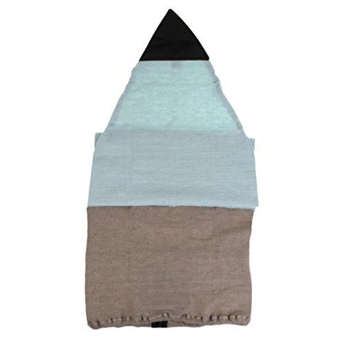 FLAMEER Housse De Chaussette De Planche De Surf 5ft - Sac De Protection Extensible Léger pour Votre Planche De Surf