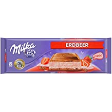 Milka Tableta De Chocolate Leche Con Fresa