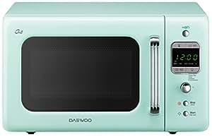 daewoo kog 6lbm four micro ondes 20 l style vintage avec grill couleur menthe. Black Bedroom Furniture Sets. Home Design Ideas