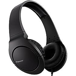 Pioneer SE-MJ741-K Bass Head Color negro- Auriculares de diadema abiertos