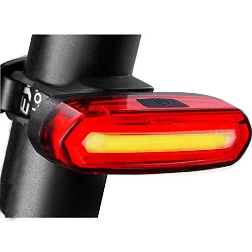 TAOtTAO USB wiederaufladbare Fahrrad 6 Modi Licht Schwanz Flash LED Lampe Warnlicht