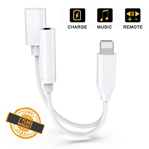 Adaptador Auriculares iPhone 7 Adaptador Jack 3,5