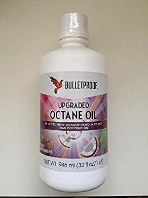 bulletproof upgraded octane oil 946ml 32 fl oz from bulletproof