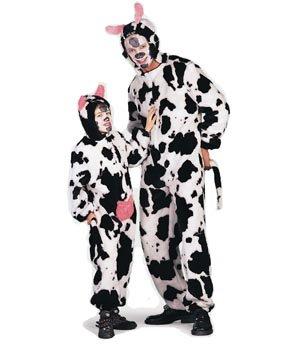 Wilbers Federbein Kuh Kinder Kostüm (4–5Jahre)