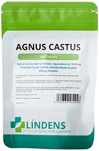 sale agnus castus 100 x 1000mg tabletten vitex von lindens auf grocery. Black Bedroom Furniture Sets. Home Design Ideas