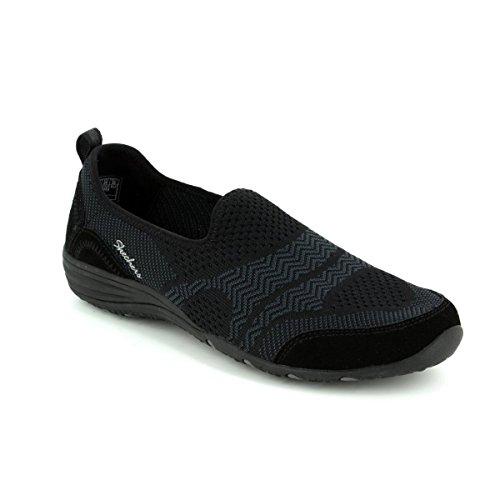 Ladies Skechers black UNITY-MOONSHADOW 23054 / BLK black Size 36 to 41,...
