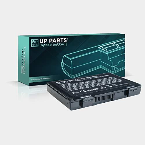 UP PARTS UP-L-U0F82 - Batteria per ASUS Compatibile con A32-F82 A32-F52 K50 K50AB K50C K50i K50IJ K50iN K51 K51AC K70 K70IJ K70IO 11.1V 6 Celle 4400mAh