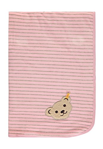 Preisvergleich Produktbild Steiff Baby Decke Nicky Winter Color Nicky 6722940, Rosa 65 x 93 cm