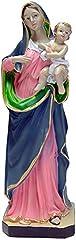 Idea Regalo - Kaltner Präsente, statuetta decorativa Madre di Dio, Madonna con Gesù Bambino