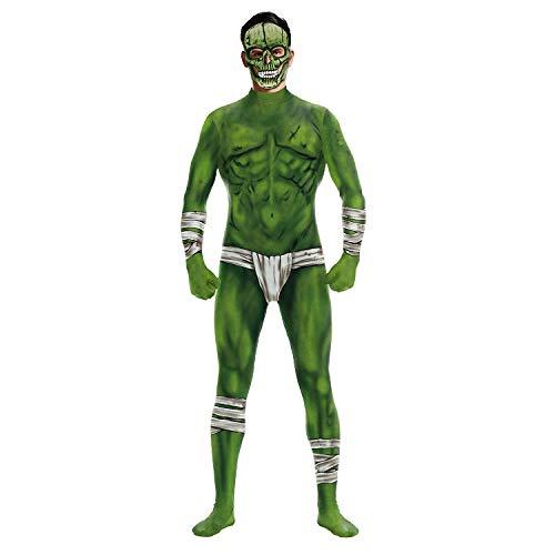 Damen 007 Kostüm - JXILY 3D Skeleton Bodysuit Halloween Kostüm für Damen,Wb141/007,XL
