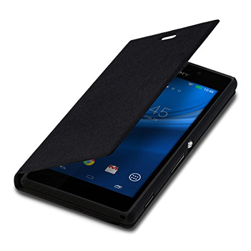 kwmobile Sony Xperia M2 Hülle - Handyhülle für Sony Xperia M2 - Handy Case Schutzhülle Klapphülle