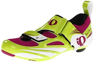 Pearl Izumi Women's Tri Fly IV Carbon Shoes Lime / Orchid UK 7 / US 9.5 / EU 41