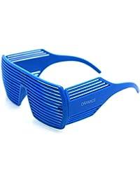 Shutter Shades Partybrille Atzen Style Brille mit Jalousien in verschiedenen Farben