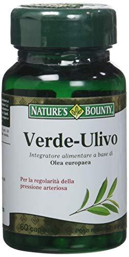 Nature's Bounty Verde-Ulivo, 60 Capsule