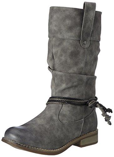 Hailys Damen Bt Margy Stiefel Grau (Grey)
