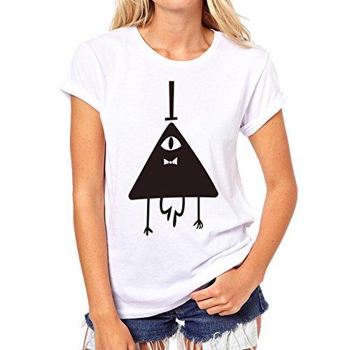 Illuminati Triangle Art Majestic Mister Business person Herren T-Shirt Weiß