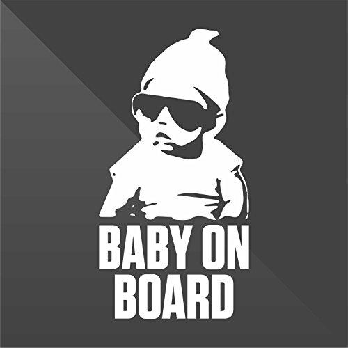 cm 10 Decal Auto Moto Casco Wall Camper Bike Adesivo Adhesive Autocollant Pegatina Aufkleber Sticker Bambini a bordo Baby on board b/éb/é /à bord beb/é a bordo Baby an Bord