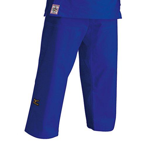 Pantaloni mizuno judo omologato ijf c/lacci blu (4)