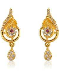 Bhima Jewellers 22Kt Yellow Gold Pendant Set For Women - B07BVN62XW
