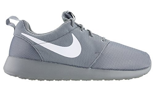 Nike Mens Roshe One Running Shoes Cool Grey/White-Volt 511881-032 Size 8