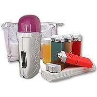 Home Waxing Set für Haarentfernung mit Warmwachs Waxing Kit Haarentfernungsgerät Haarentferner für Zuhause