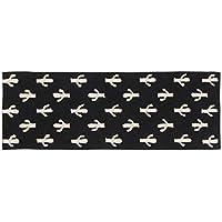 Lorena Canals 1703496031 - alfombra black&white cactus 80x230 cm