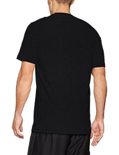 adidas Herren Sid Branded Tee Shirt, Grau Schwarz