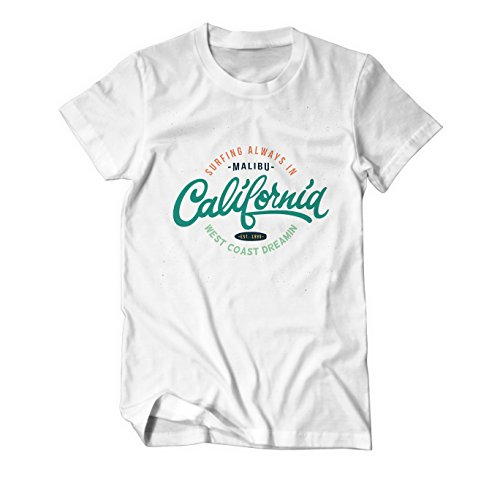 Surfing California Summer - Fun - T-Shirt Herren Weiß