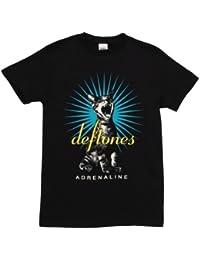 Deftones - - Adrenaline Cat T-Shirt in Schwarz, Large, Black