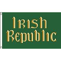 GIZZY Irlandese Republic (Pasqua Rising Irlanda 1916) 12.7cm x 7.6cm bandiera - Colori Bandiera Irlandese