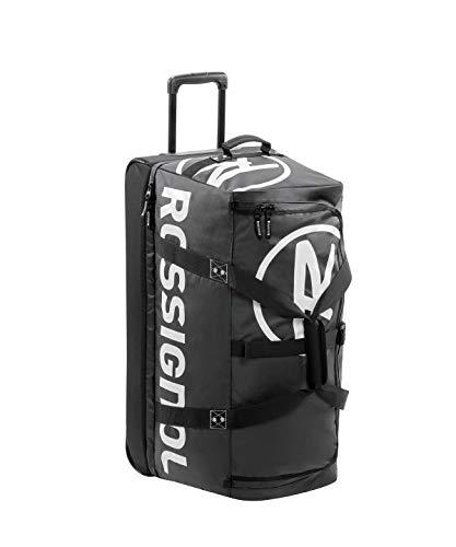 804c1f1a827 Rossignol Unisex's Hero Tarpaulin Explorer Ski Luggage, Black, One Size