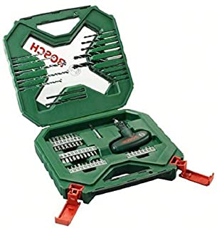 Bosch Home and Garden 2 607 010 610 Bosch X-Line - Maletín de 54 unidades para taladrar y atornillar, 0 W, 0 V, Verde, Rojo, Set Piezas (B002UHKASI) | Amazon price tracker / tracking, Amazon price history charts, Amazon price watches, Amazon price drop alerts