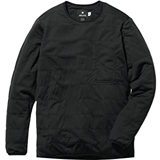 Snow Peak Flexible Insulated Pullover, Black, Medium
